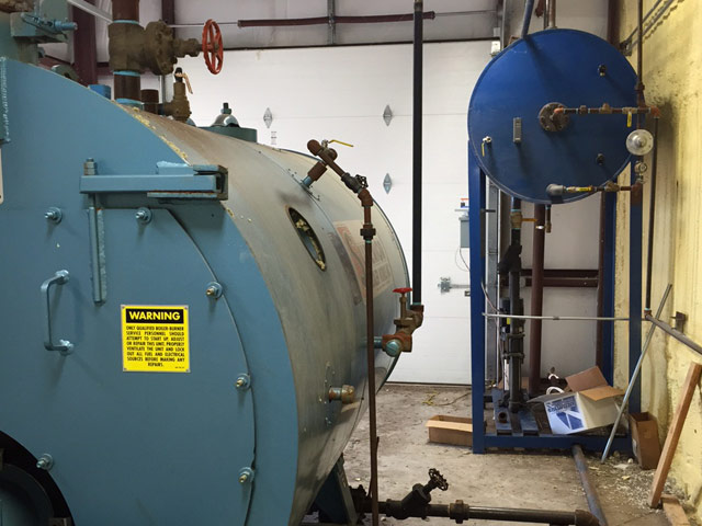 New Boiler Install | Commercial Trade Services